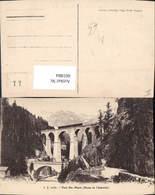 601884,Pont Ste-Marie Route De Chamonix Viadukt Brücke - Brücken