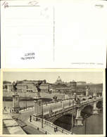 601877,Roma Rom Ponte Vittorio Emanuele Brücke Italy - Brücken