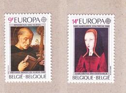 1980 Nr 1972-73** Postfris.Europa,beroemdheden - Belgique