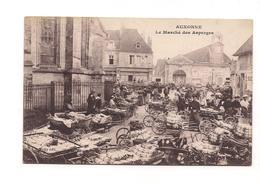AUXONNE - Lei Marché Des Asperges - AU DOS CACHET TRAIN SANITAIRE - - Auxonne