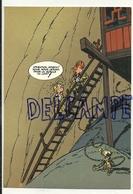 Trésors Du Journal De Spirou. Carte Postale N° 50. Spirou Et Fantasio. Marsupilami. Echelle - Fumetti