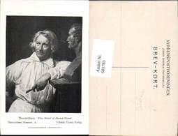 601783,Künstler Ak Thorvaldsen Efter Maleri Af Horace Vernet Bildhauer Künstler Büste - Berufe