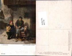 601778,Künstler Ak H. Rhomberg Der Schlittenschnitzer Schnitzer Holzschnitzer Handwer - Berufe