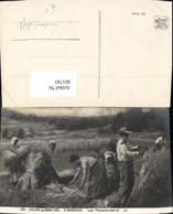 601741,Künstler Ak P. Gregoire Les Moissonneurs Getreideernte Ernte Landwirtschaft - Bauern
