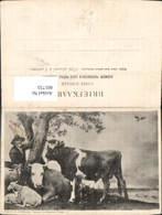 601733,Künstler Ak S. Abrahmson Passage Boekhandel S Hage Rinder Kühe Schafe Landwirt - Bauern