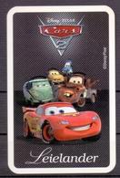 Belgie - Speelkaarten - ** 1 Kaart - Disney Picar -  ** - Cartes à Jouer Classiques