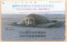 Japan Telefonkarte - Schildkröte , Turtle- Siehe Scan -4625 - Schildkröten