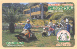 Japan Telefonkarte - Schildkröte , Turtle - 110-107009 - Siehe Scan -4637 - Schildkröten