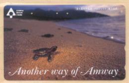Japan Telefonkarte - Schildkröte , Turtle -  Siehe Scan -4638 - Schildkröten
