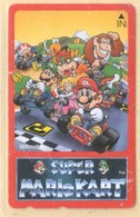 Japan Telefonkarte - Schildkröte , Turtle - Super Mario Kart -  Siehe Scan -4648 - Schildkröten