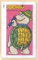 Japan Telefonkarte - Schildkröte , Turtle -   Siehe Scan -4649 - Schildkröten