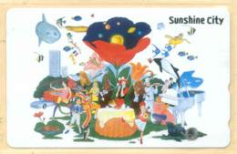 Japan Telefonkarte - Schildkröte , Turtle -   Siehe Scan -4650 - Schildkröten
