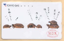 Japan Telefonkarte - Schildkröte , Turtle  -  Siehe Scan -4654 - Schildkröten
