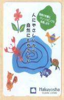 Japan Telefonkarte - Schildkröte , Turtle -  Siehe Scan -4657 - Schildkröten