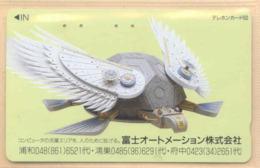Japan Telefonkarte - Schildkröte , Turtle - Siehe Scan -4661 - Schildkröten