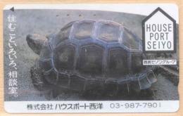 Japan Telefonkarte - Schildkröte , Turtle - Siehe Scan -4669 - Schildkröten
