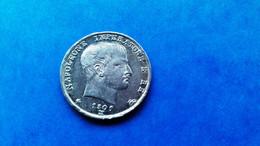 ITALIEN 1 Lira 1809 Mailand Napoleon I (1804-1814) - Ohne Zuordnung