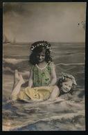 2 MOOIE MEISJES -  2 BELLE FILLETTES    - FOTOKAART  CARTE PHOTO - Enfants