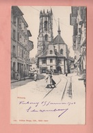 OUDE POSTKAART ZWITSERLAND - SUISSE -  FRIBOURG 1904 - FR Fribourg