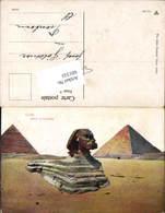 601333,Egypt Caire Kairo Sphinx Gizeh Pyramiden - Ägypten