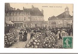 AUXONNE Marché Aux Choux-fleurs - - Auxonne