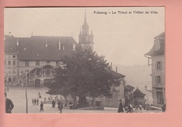 OUDE POSTKAART ZWITSERLAND - SUISSE -  FRIBOURG   -  LE TILLEUL - FR Fribourg
