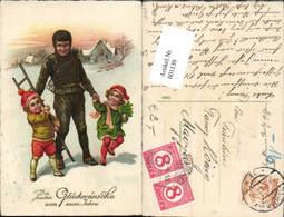 601139,Schornsteinfeger Rauchfangkehrer M. Kinder Nachporto - Berufe