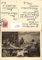 601124,Künstler Ak Frans Snyders Ein Fischmarkt Fischerei Fischen - Fischerei