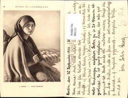 601111,Künstler Ak L. Charlot Jeune Bergere Hirtin Schäferin Schafe - Berufe