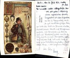 601108,Künstler Ak F. Bem Das ABC Der Hirt Hirte Schäfer - Berufe