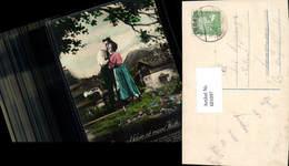 601097,Fotomontage Paar Liebe Wange A. Wange Arm U. Klein Ist Meine Hütte Text Pub Ph - Paare