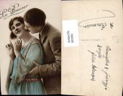 601092,Paar Liebe Kuss A. Wange Le Baiser - Paare