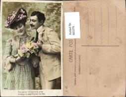 601079,Paar Liebe Händchenhalten Blumen Rosen Spruch - Paare