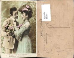 601077,Paar Liebe Verliebter Blick Hut Hutmode Spruch - Paare