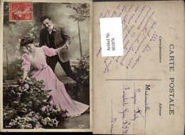 601076,Paar Liebe Händchenhalten Rosen Blumen - Paare