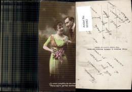 601062,Paar Liebe Händchenhalten Blumen Text Pub DIX 183 - Paare
