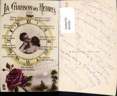 601050,Paar Liebe La Chanson Des Heures Uhr Kuss Erotik - Paare