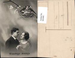 601045,Paar Liebe Verliebter Blick Wesolego Alleluja Vögel - Paare