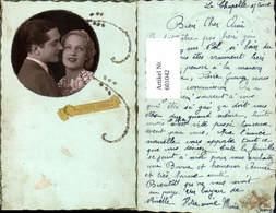 601042,Portrait Paar Liebe Passepartout Glitzer Bonne Annee - Paare