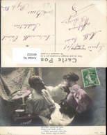 601032,Künstler Ak H. Manuel Paar Liebe Handkuss Text - Paare