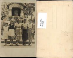 601028,Foto Ak Gruppenbild Mädchen Buben Jungen Plenker Brunnen - Ansichtskarten