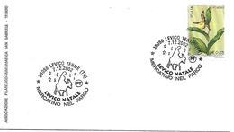 SG0246 - ANNULLO LEVICO - NATALE - MERCATINO NEL PARCO.-  7.12.2002 - 6. 1946-.. Repubblica