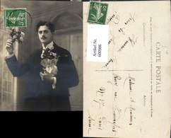 600986,Mann Anzug M. Blumen Bonne Annee - Männer