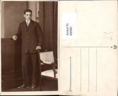 600982,Foto Ak Mann Anzug Krawatte - Männer