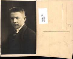 600981,Foto Ak Mann Portrait Krawatte - Männer