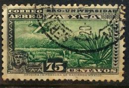 MEXICO 1934 Pro Universidad 75 Centavos Used - México