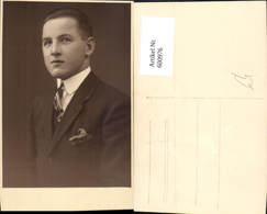 600976,Foto Ak Mann Portrait Krawatte - Männer