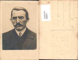 600975,Foto Ak Mann Portrait Schnurbart - Männer