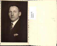 600973,Foto Ak Mann Portrait Krawatte - Männer