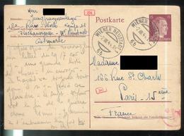 Courrier De STO Français En Allemagne - 2-08 1944 - Jungfranzosenlager De Wiener Neudstat ( Mauthausen ) - Documents